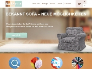 Soferia - durable and beautiful covers for Ikea sofas